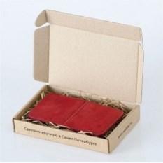 Красный кожаный чехол Walster для iPhone 4/4s