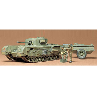 Английский тяжелый танк Churchill Crocodile
