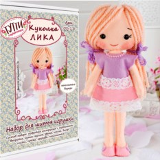 Набор для шитья игрушки «Куколка Лика»