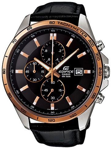 Мужские наручные часы хронограф Casio EFR-512L-1A
