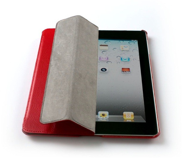Чехол Jison Smart Leather для Apple iPad3, Red