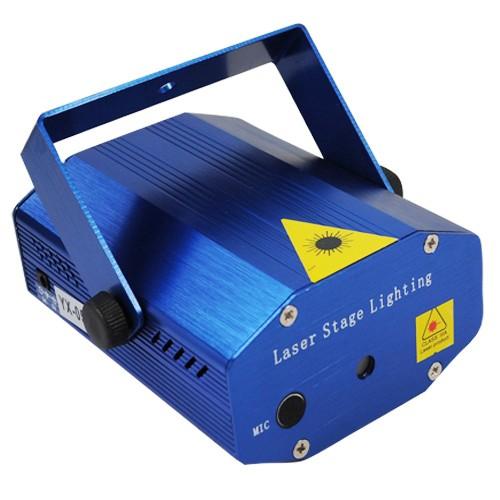 Лазерная цветомузыка для дома YX-08