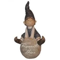 Фигурка Гном-мальчик на шаре