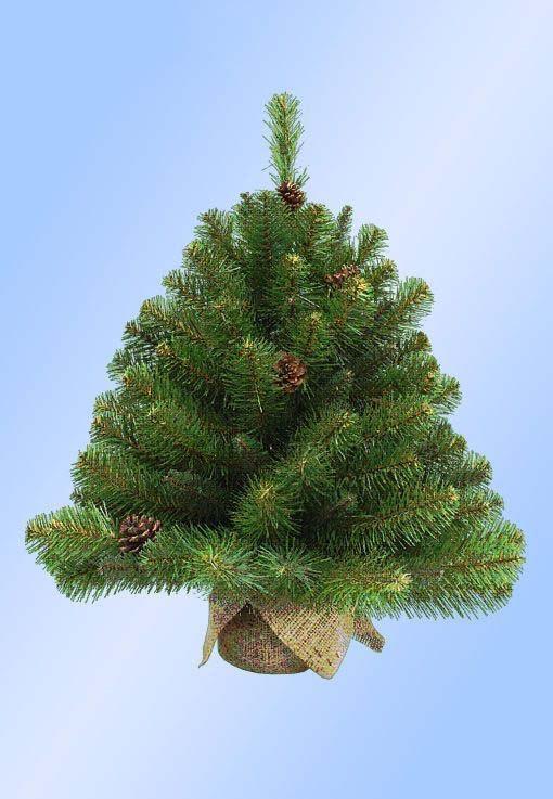 Искусственная елка Императрица в мешочке