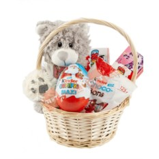 Подарочная корзина Kinder Surprise Mini
