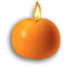 Ароматизированная свеча Мандарин