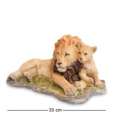 Статуэтка Лев с детенышем