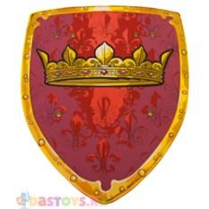 Детский красный щит с короной