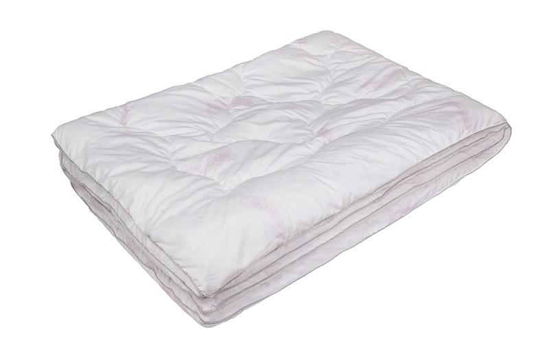 Одеяло Лебяжий пух комфорт (Экотекс) (1,5 спальное)