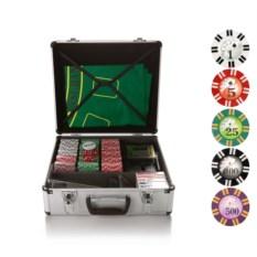 Набор для игры в покер и блэкджек на 600 фишек Казино