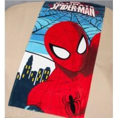 Детское махровое полотенце 75х150 Человек паук