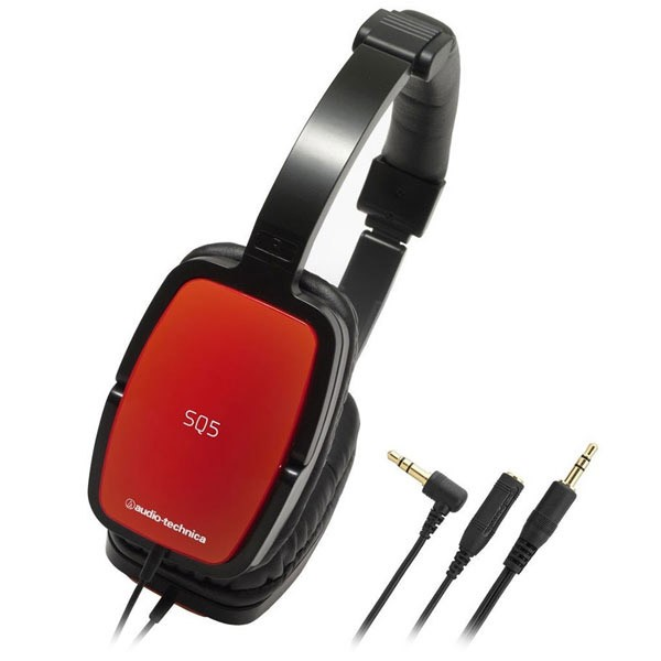 Наушники AUDIO-TECHNICA ATH-SQ5 Red