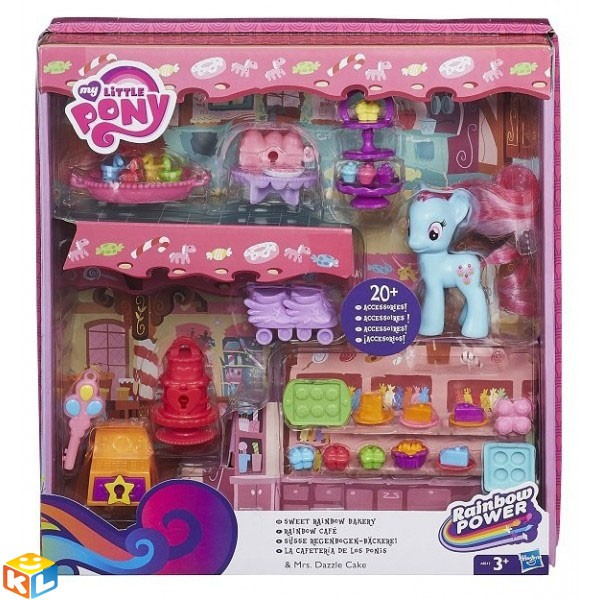 Игровой набор Hasbro My little pony Рэйнбоу кафе