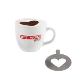 Набор трафаретов для кофе SmileLove