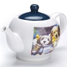 Заварочный чайник с крышкой Собачки