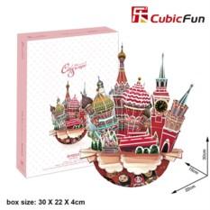 3D-пазл Городской пейзаж Москвы