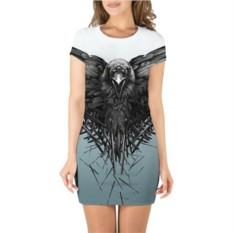 Платье 3D Ворон