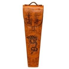 Набор с шампурами с рукоятью из бронзы Змея