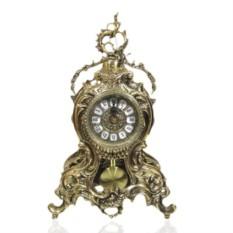 Часы из бронзы с маятником Сальвадор Дали