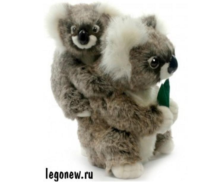 Мягкая игрушка Коала с детенышем (Hansa)