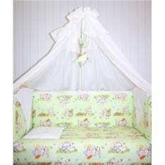Комплект в кроватку для новорожденных «Игрушка»
