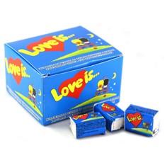 Блок жвачек Love is Банан-Клубника (20 шт.)