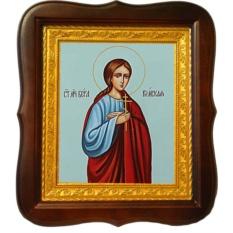Вера Римская Святая мученица. Икона на холсте.