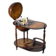 Напольный глобус-бар со столиком