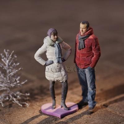 3D фигурка жене - миниатюрная копия