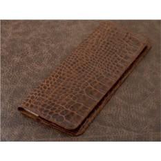Планинг Vignette (коричневый, крокодил; нат. кожа)