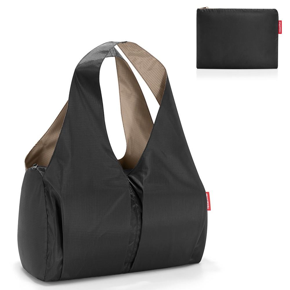 Складная сумка Mini maxi happybag black