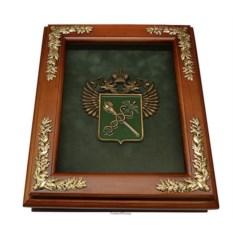 Деревянная настенная ключница Эмблема Таможни