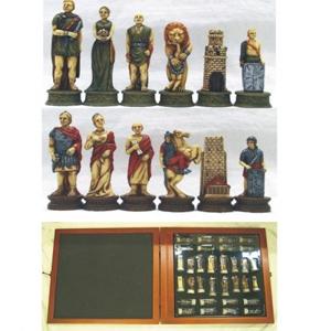 Шахматы «Спартанцы и римляне»