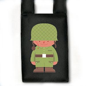 Чехол для телефона на ремень «Солдатик»