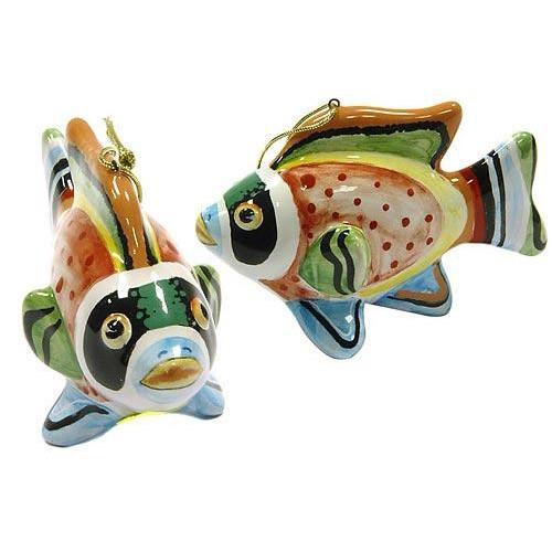 Елочная игрушка Рыбка хвостатая