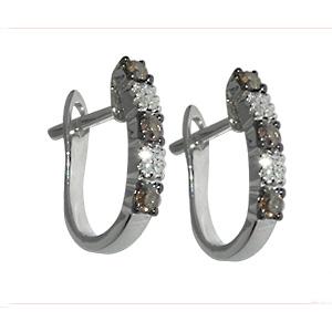 Серьги Diamante