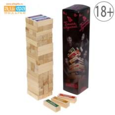 Игра для взрослых Падающая башня искушений