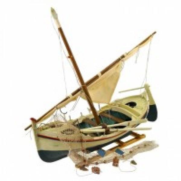 Декоративная модель рыбацкой лодки Шхуна
