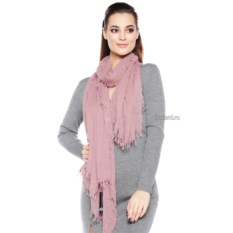 Розовый женский шарф Mario Spado