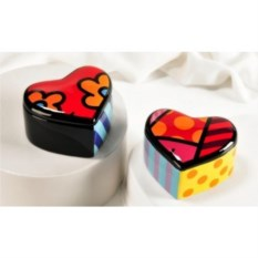 Керамическая шкатулка Britto коллекция Heart