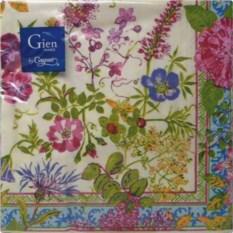 Бумажные салфетки Gien Многоцветие
