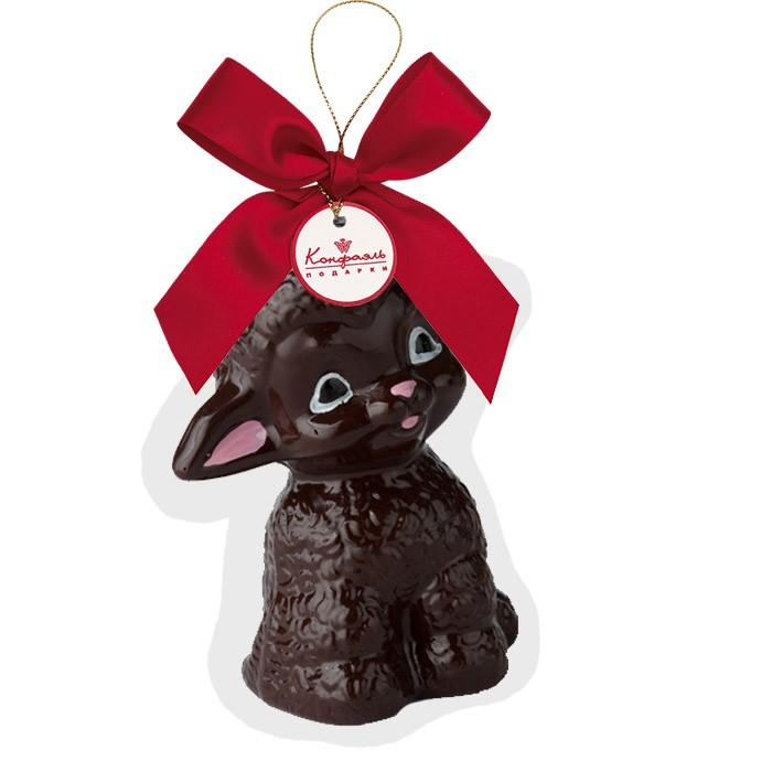 Шоколадная фигурка из темного шоколада Ягненок