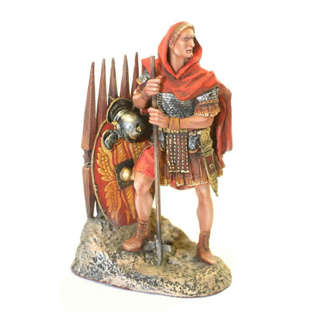 Оловянный солдатик: римлянин в красном плаще