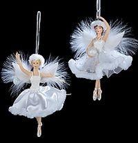 Елочное украшение Балерина снежинка