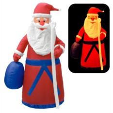 Надувная фигура Дед Мороз в красном камзоле