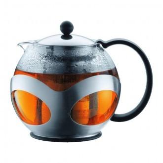 Чайник с металлическим прессом BODUM Kenya