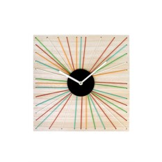 Настенные часы Цветные лучики