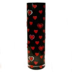 Ваза с кристаллами Swarovski День Валентина