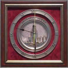 Настенные часы Спасская башня