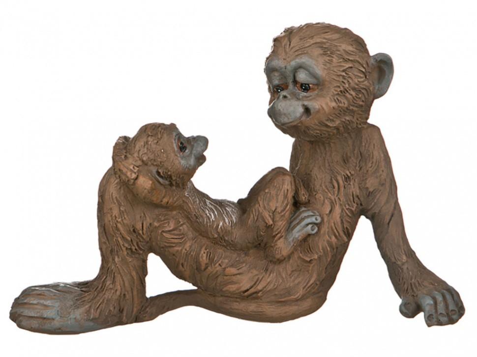 Фигурка Обезьяна с малышом